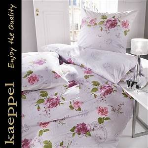 Bettwäsche 155x220 Weiß : kaeppel mako satin bettw sche 155x220 cm dessin 25875 rosenstolz mauve wei ebay ~ Yasmunasinghe.com Haus und Dekorationen