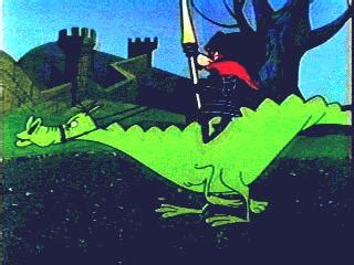 yosemite sam cartoon knighty knight bugs