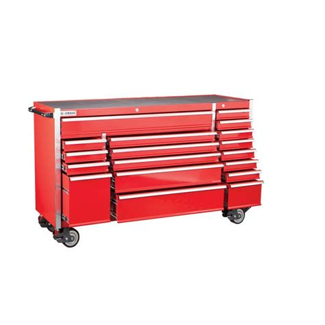 harbor freight storage cabinet 72 in 18 drawer glossy red industrial roller cabinet