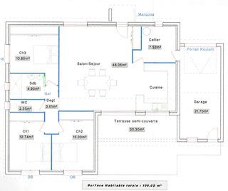 cuisine semi ouverte besoin d 39 avis pour plan de maison plain pied de 100m2 en
