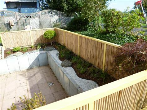 Sichtschutz Garten Bambuszaun by Sichtschutz Mit Dekorativem Bambuszaun 50 Originelle Ideen