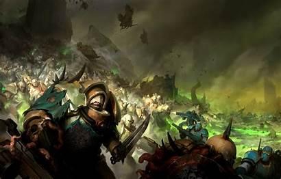 Guard Warhammer Death Nurgle Chaos Demon Plate