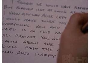 Bella's letter to nessie. (( KRISTEN's HANDWRITING ...
