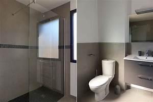 Location appartement t3 duplex a sausset les pins sur la for Salle de bain avec douche italienne et wc