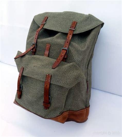 sac a dos cuir et toile sac 224 dos toile et cuir style militaire soyez original et vintage avec ce superbe sac 224 dos