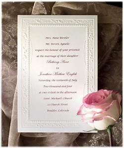 formal wedding invitation wording etiquette parte two With wedding invitation etiquette jr