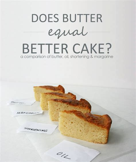substitute shortening for margarine can i substitute butter for oil in cake mix