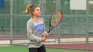 High school tennis prodigy excels in competition against ...