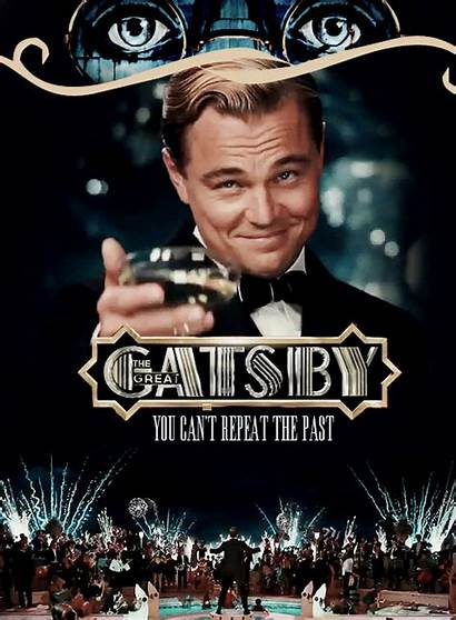 Gatsby Dicaprio Leonardo Fan Gastby Film Poster