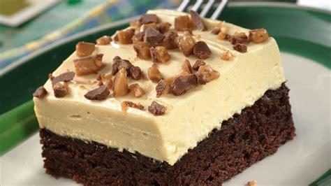 topped brownie dessert recipe pillsbury