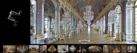 but canapé visite virtuelle du château de versailles 78