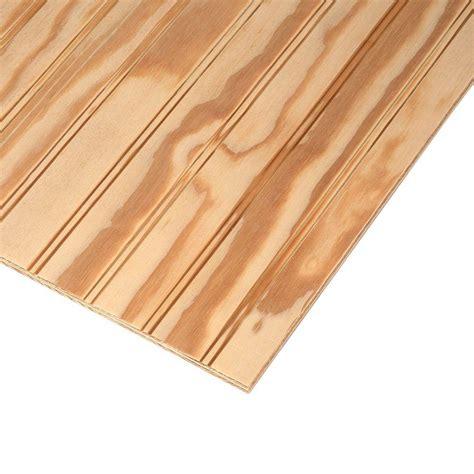Plybead Plywood Siding Plybead Panel (common 1132 In X