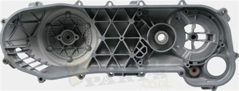 transmission cover side casing piaggio 50cc pedparts uk