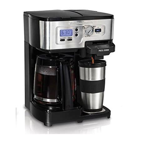 Coffee maker hamilton beach 49615 use & care manual. Hamilton Beach Coffee Maker FlexBrew 2 Way - Buy Online in UAE. | hamilton beach Products in the ...