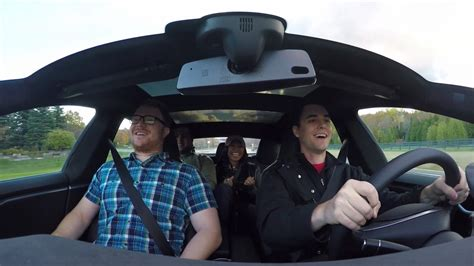 Watch A Refreshed Tesla Model S Sort Of Break A Quarter