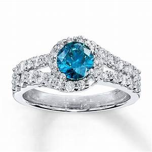 Blue diamond engagement rings hd ring diamantbilds for Wedding rings blue