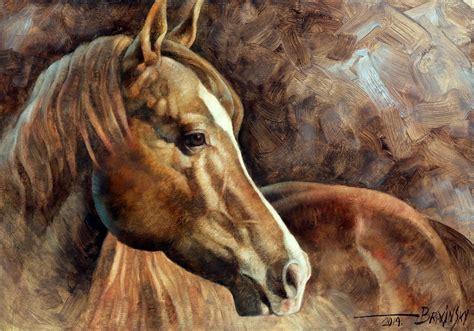 Horse Head Art Paintings