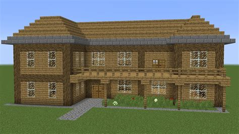 minecraft   build  wooden house  youtube