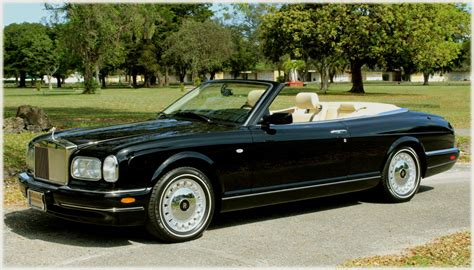 2001 Rolls Royce Corniche 2001 rolls royce corniche photos informations articles