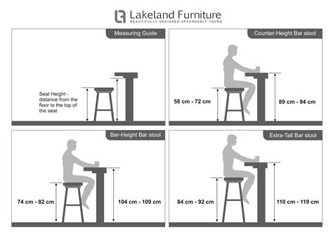 Home Bar Measurements by Bar Stool Size Guide Discover Now Lakeland Furniture