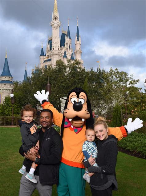 Alfonso Ribeiro Visits Walt Disney World With His Wife And