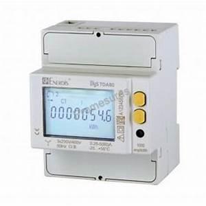 Compteur Divisionnaire électrique : compteur lectrique enerdis tda80 4m ~ Melissatoandfro.com Idées de Décoration