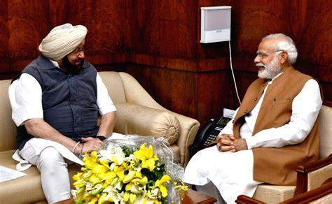 Punjab CM Amarinder meets PM Modi