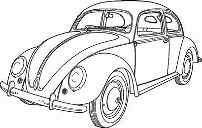 Coloring Pages Classic Beetle Collector Button Through