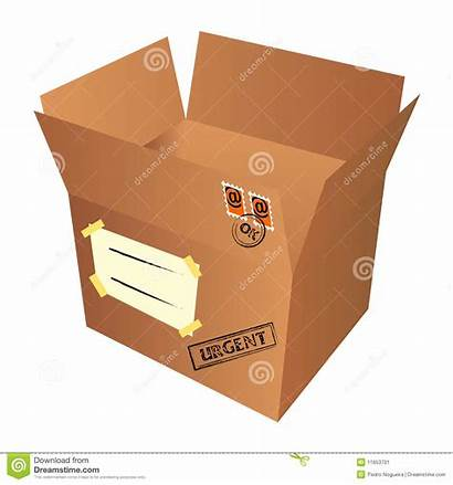 Package Mail Box Isolated Vector Illustration Pr
