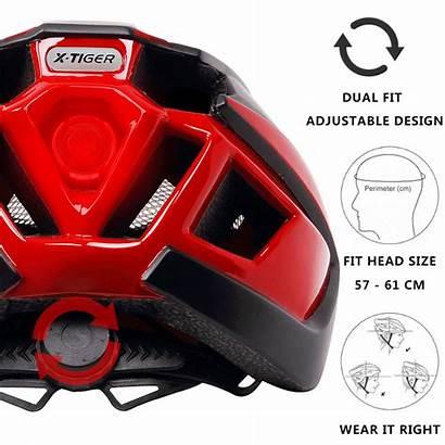 Helmet Bike Cycling Bicycle Mountain Ultralight Tiger