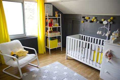 deco chambre bebe gris deco chambre bebe jaune et gris visuel 9