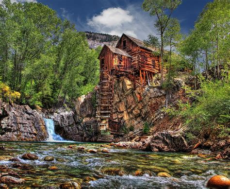 Crystal Mill | This is a Colorado icon located on a 4X4 ...
