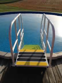 Above Ground Pool Ladders Steps