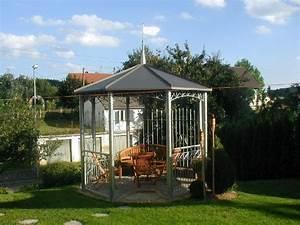 Garten Lampions Wetterfest : gartenpavillon metall wetterfest nowaday garden ~ Frokenaadalensverden.com Haus und Dekorationen