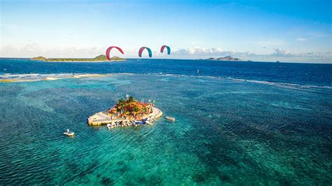 kitesurfing union island  grenadines kiteworld magazine