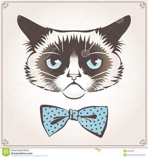 Grumpy Cat Stock Illustration Illustration Of Funny
