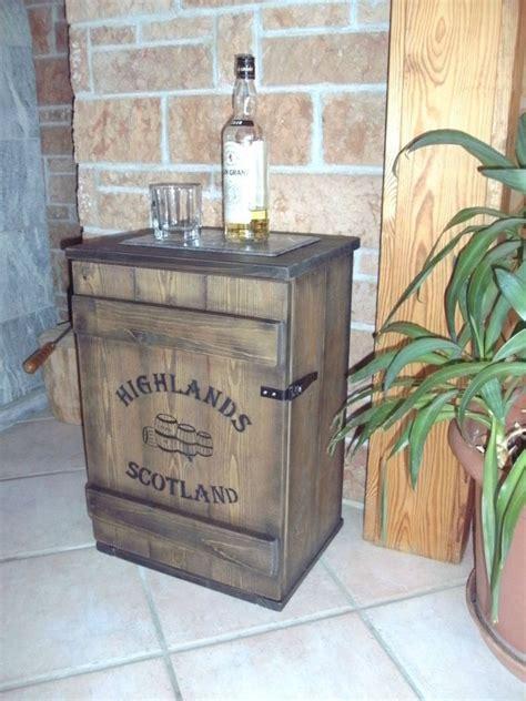 shabby frachtkiste mini bar vintage couchtisch whiskey
