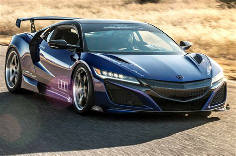 Acura NSX : Acura Nsx Dream Project Rolling Into Sema With 610 Hp