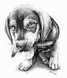 kreslené obrázky zvířat tužkou - Hledat Googlem   Malba ...