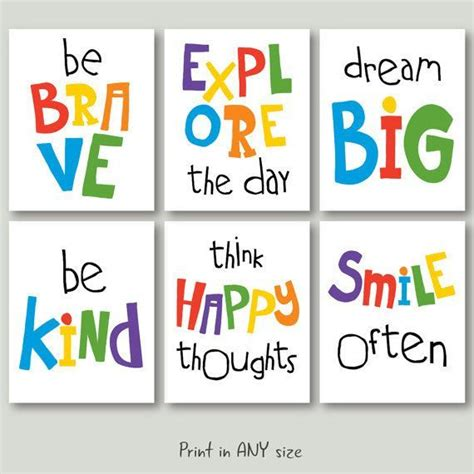 A large and always growing of free posters to print for the classroom or home, including lovely illustrated animal posters for younger kids, inspiring quotation posters for teachers, and catchy message posters that everyone will find useful. motivational quotes for kids download playroom quote poster wall art decor jpg pdf primary ...