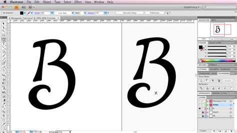 how to design a logo how to create a monogram style logo in illustrator brent