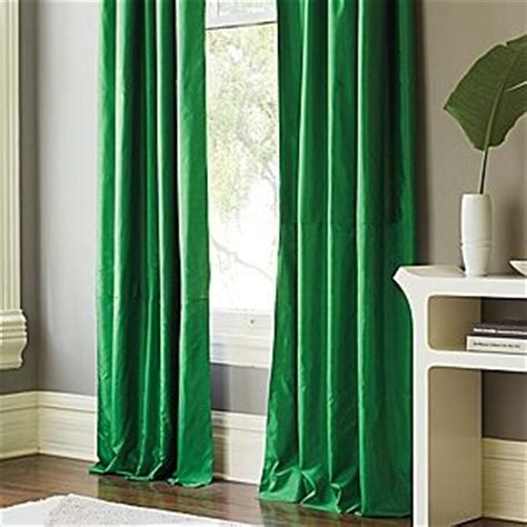 emerald green curtains curtains for master silk shantung window panel