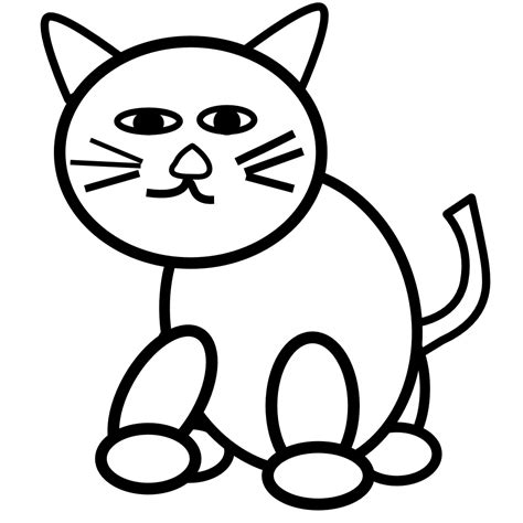 clipart black and white kitty clipart black and white clipart panda free