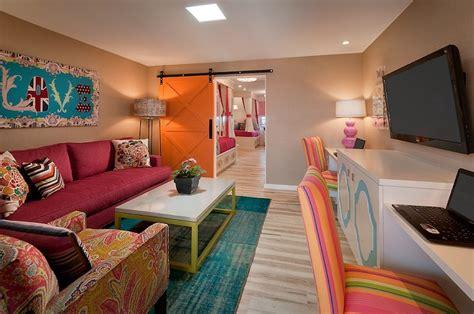 Kids Tv Room-contemporary-media Room-vallone Design