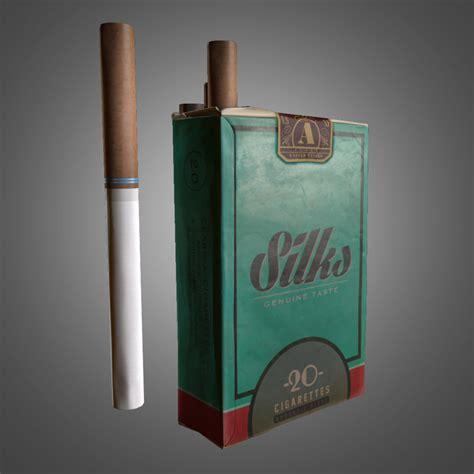 cigarette box  model