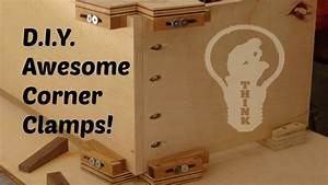 How To Make Wooden Corner Clamps - YouTube