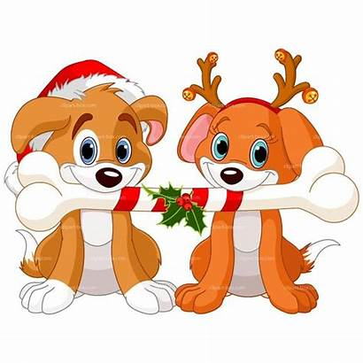Christmas Dog Clipart Cat Clip Dogs Puppies