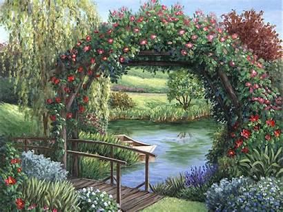 Arts Pond Wallpapers Wallpapersafari