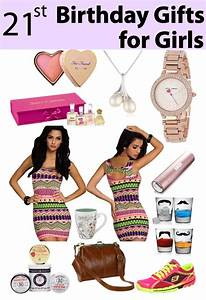 21st Birthday Gifts for Girls - Vivid's