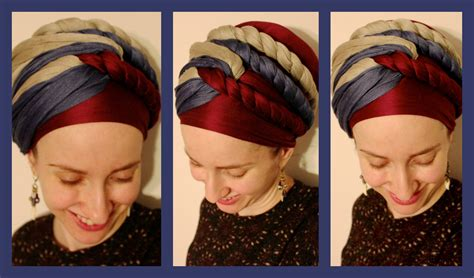 wrapunzel triple twist turban fashion hair wrap